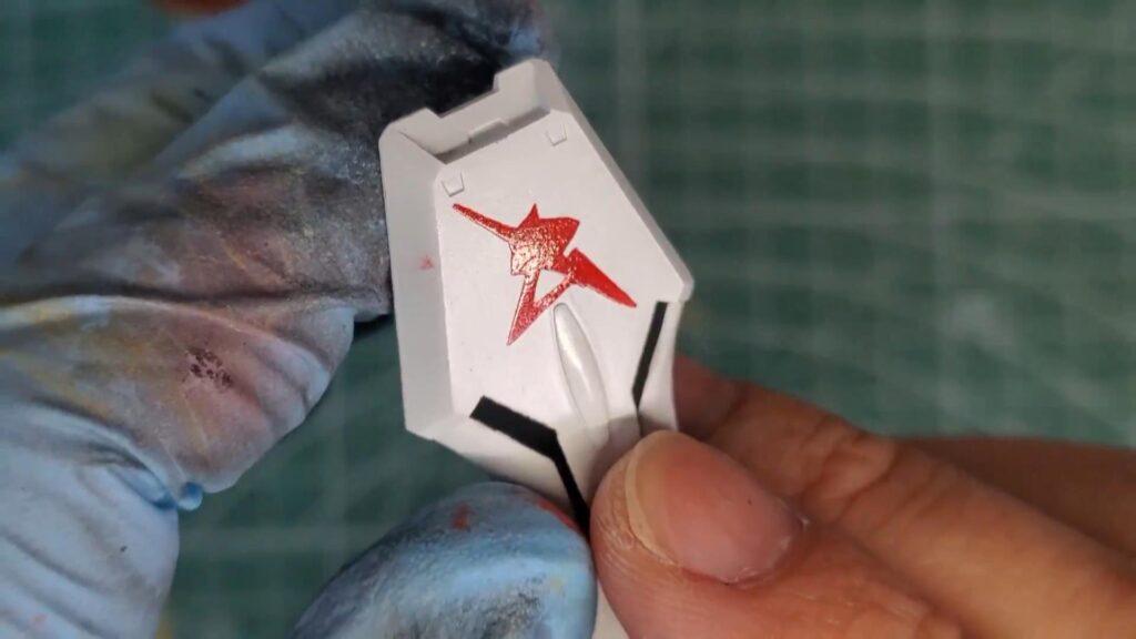マーキングを塗装する方法