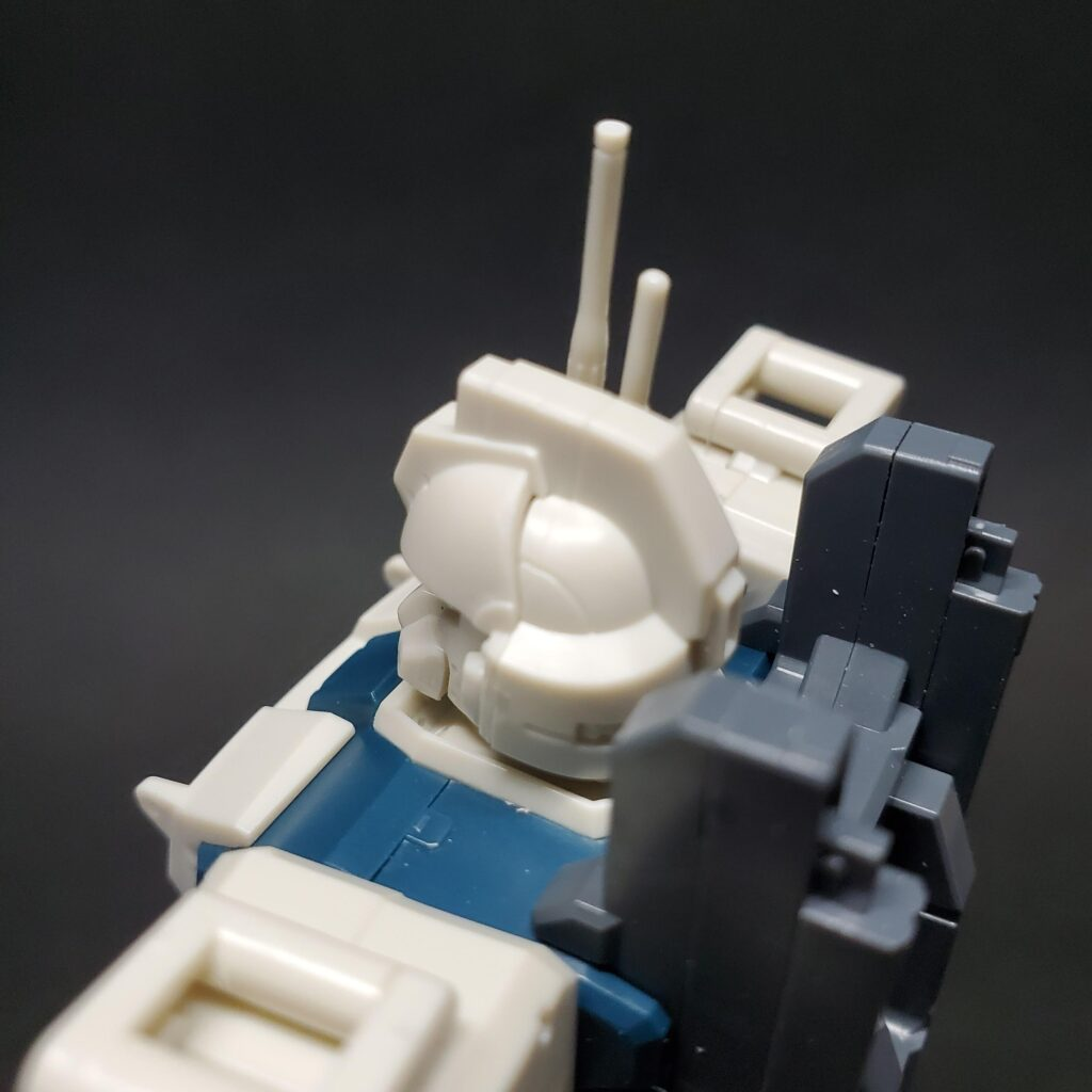 ガンプラレビュー HGUC 155 ガンダム Ez-8 合わせ目